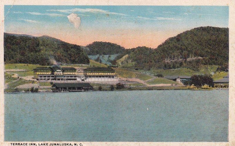 LAKE JUNALUSKA, North Carolina, 1900-1910s; Terrace Inn