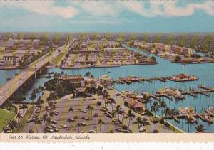 Florida Fort Lauderdale Aerial View Pier 66 Marina
