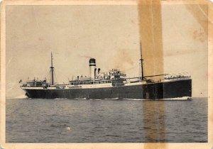 Atlanta Cosulich Line Ship Tape on back