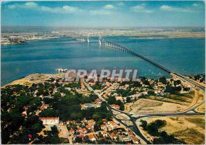 Postcard Modern Bridge St Nazaire Mindin