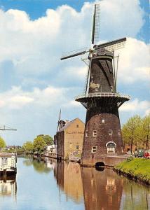 Netherlands Korenmolen De Walvisch te Schiedam Mill Muhle