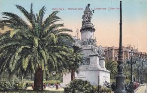 GENOVA, Monumento a Cristoforo Colombo, Liguria, Italy, 00-10s