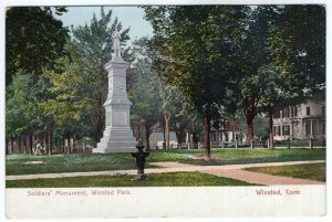 Winsted, Conn, Soldiers' Monument, Winsted Park