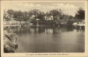 Bermuda Lagoon Beach Grasmere Hotel Postcard
