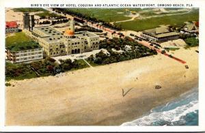 Florida Ormond Beach Birds Eye View Of Hotel Coquina Curteich