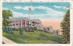 KALAMAZOO, Michigan; Western State Teachers College, PU-1935