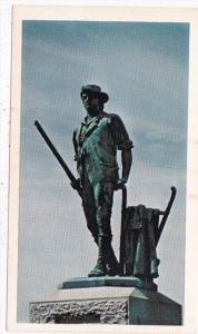 Massachusetts Concord Minuteman Statue
