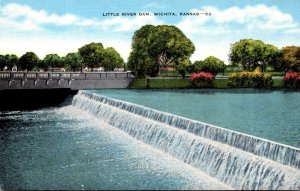 Kansas Wichita Little River Dam