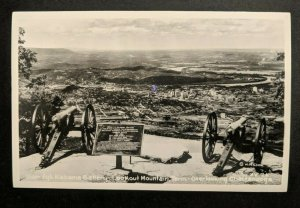 Mint Vintage Chattanooga Tennessee Garrity Alabama Battery Real Picture Postcard