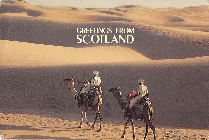 B63236 Scotland may looke like Great Som Desert because of the Greenhouse  uk
