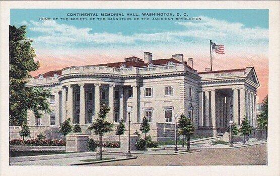 Continental Memorial Hall Washington D C