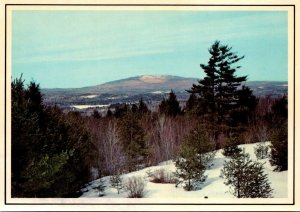 New Hampshire Mount Monadnock In Winter