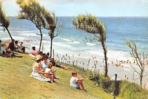 View on the Sea from the Promenade Nathanya Israel 1965 Missing Stamp