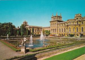 England Woodstock French Water Gardens Blenheim Palace