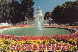California State Capitol Sacramento California 2002