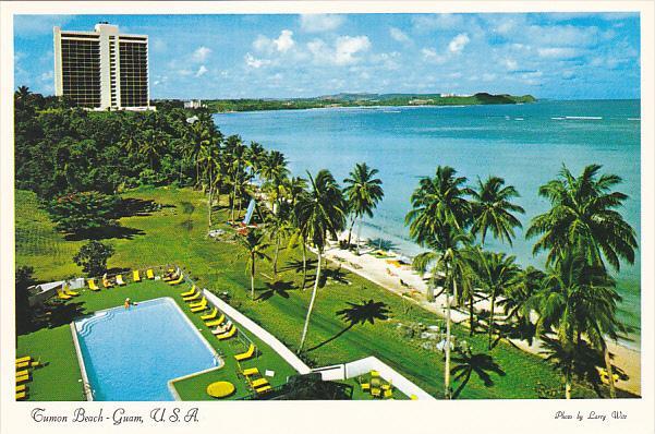Swimming Pool Guam Okura Hotel Tumon Bay Guam