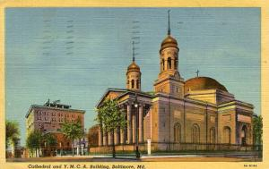 MD - Baltimore, Cathedral & YMCA Building
