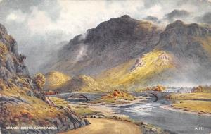 The River Derwent at Grange Bridge Borrowdale