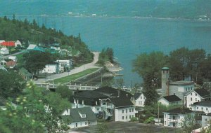 CHICOUTIMI, Quebec, Canada, PU-1988 ; Aerial View of the Riviere-du-Moulin