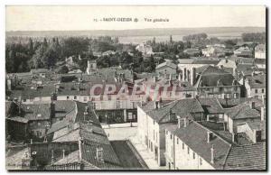Postcard Old Saint Dizier Vue Generale
