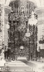 RP: TAXCO , MEXICO , 30-40s ; Altar Mayor Cathedral