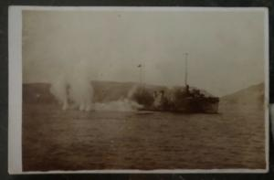 Mint Germany Real Picture RPPC Postcard Kaiserliche Marine Torpedo Attack 1904