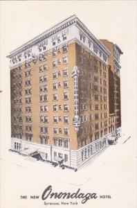 The New Onondaga Hotel Syracuse New York 1959