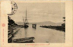 CPA Bassin de Radoub rempli MARTINIQUE (872381)