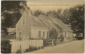 1947 Seth Nickerson Oldest House Provincetown Cape Cod MA Commercial St Postcard