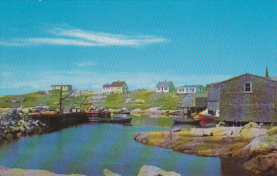 Canada Peggy's Cove Halifax County Nova Scotia