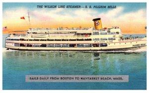 S.S. Pilgrim Belle , Wilson Line