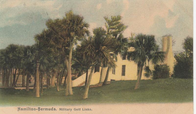 HAMILTON , Bermuda , 1933 ; Military Golf Links