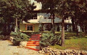 Horseshoe Bend Arkansas Club House Street View Vintage Postcard K90901