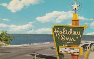 EUFAULA, Alabama, 1940-60s; Holiday Inn, U.S. Highway No. 82 At Riverside Drive
