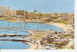 Postal 034989 : Punta del Este (Uruguay). Vista aerea del puerto