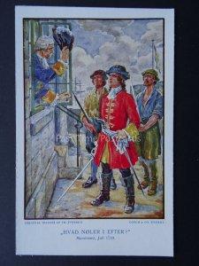 Denmark (2) PETER TORDENSKJOLD Naval Heroe Billeder Fra Hans Liv - Old Postcard
