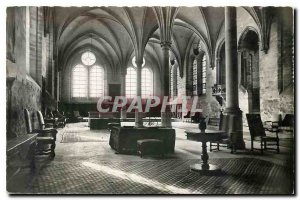 Old Postcard Old refectory Royaumont