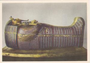 EGYPT, 1940´s; No. 5 Tut Ank Amen´s Treasures, The Second Mummy-Schaped Coffin