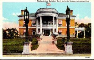 Ohio Lancaster Administration Building Boys' Industrial School Curteich