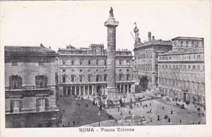 Italy Rome Piazza Colonna