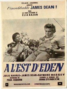 CPM AK A L'est d'Eden CINEMA FILM (781197)