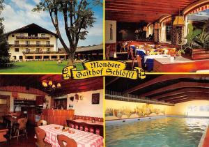 Mondsee Gasthof Schloessl Hallenbad Sauna Solarium Schwimmbad Pension