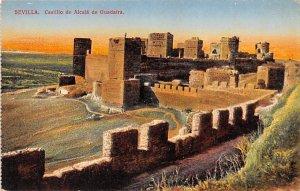 Castillo de Alcala de Guadaira Sevilla Spain Unused