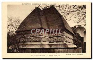 Old Postcard Cameroon Togo Grand Pavillon International Colonial Exposition P...