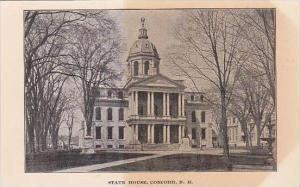 New Hampshire Concord State House