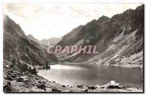 Old Postcard Around Pyrenees Cauterets Htes The Gaube Lake