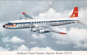 NORTHWEST DC-7C Airplane 50s
