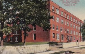 Illinois Rockford New Dormitory Rockford College 1913