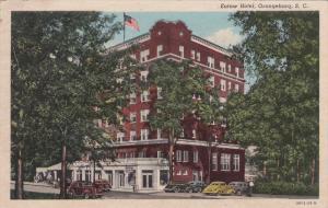 Eutaw Hotel, Classic Cars, ORANGEBURG, South Carolina, PU 1953
