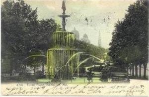 Eutaw Place, Baltimore, Maryland, PU-1907